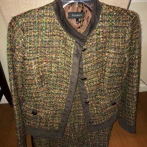 Talbots Tweed suit